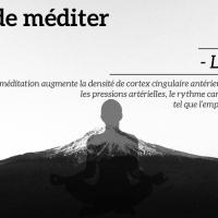 Il est temps de méditer : Les pensées parasites