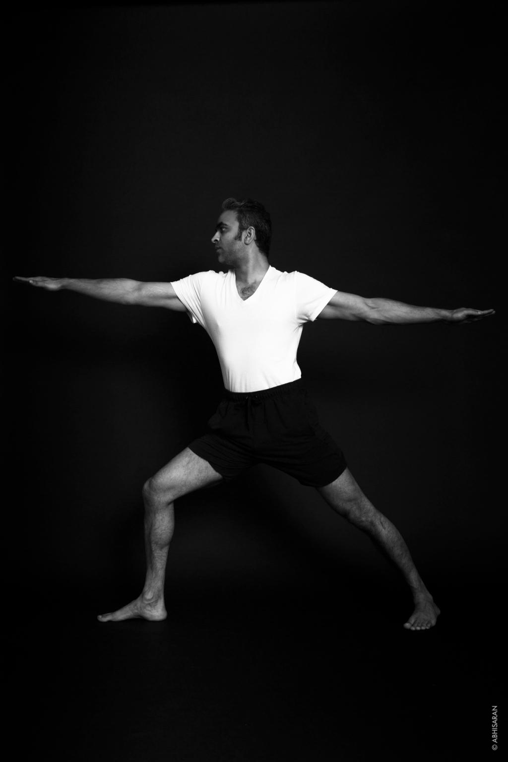 Virabhadrasana ou posture de guerrier