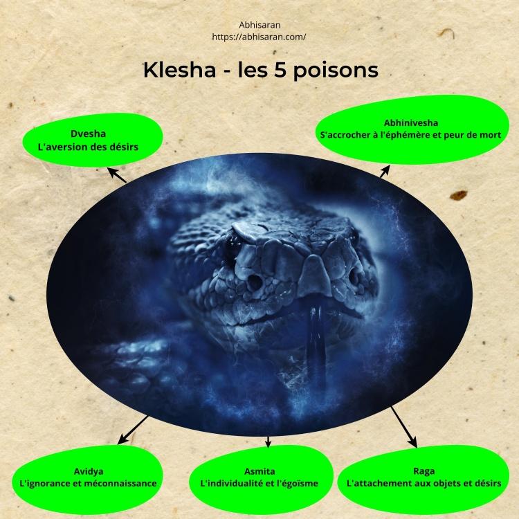 Klesha - Les 5 poisons d'esprit